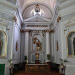 Iglesia junto al museo del Desierto de Las Palmas en Benicàssim