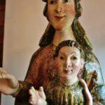 Virgen gótica en el museo del Desierto de Las Palmas en Bencàssim