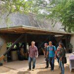 Cabaña princiñpal del lodge Cheetah Plains en parque Kruger en Sudáfrica