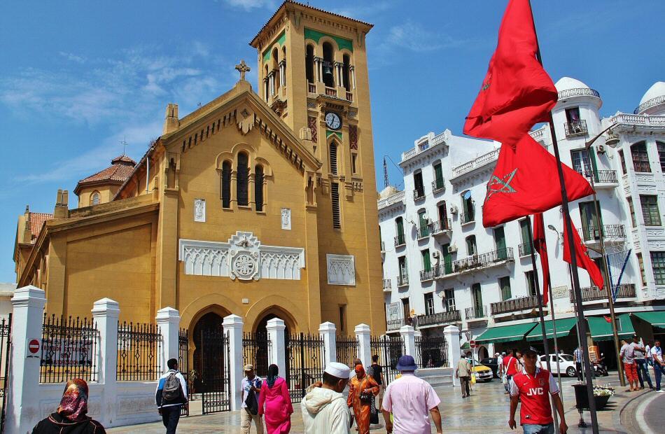 Iglesia de Ntra Señora de la Victoria en el Barrio Español de Tetuán