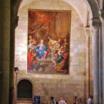 Rincón interior de la catedral Sé de Lisboa