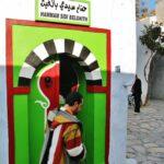 Hamman en la medina de Hammamet en Túnez