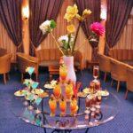 Cóctel de recepción en el hotel Medina Belisaire en Hammamet en Túnez