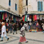 Entrada a la medina de Túnez capital