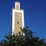 Minarete de la gran mezquita de Tetuán