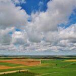 Tierra de Campos desde la muralla de Urueña en Valladolid