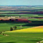 Vistas panorámicas de Tierra de Campos desde la muralla de Urueña