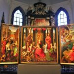 Exposición del Hospital de San Juan en Brujas en Flandes, Bélgica