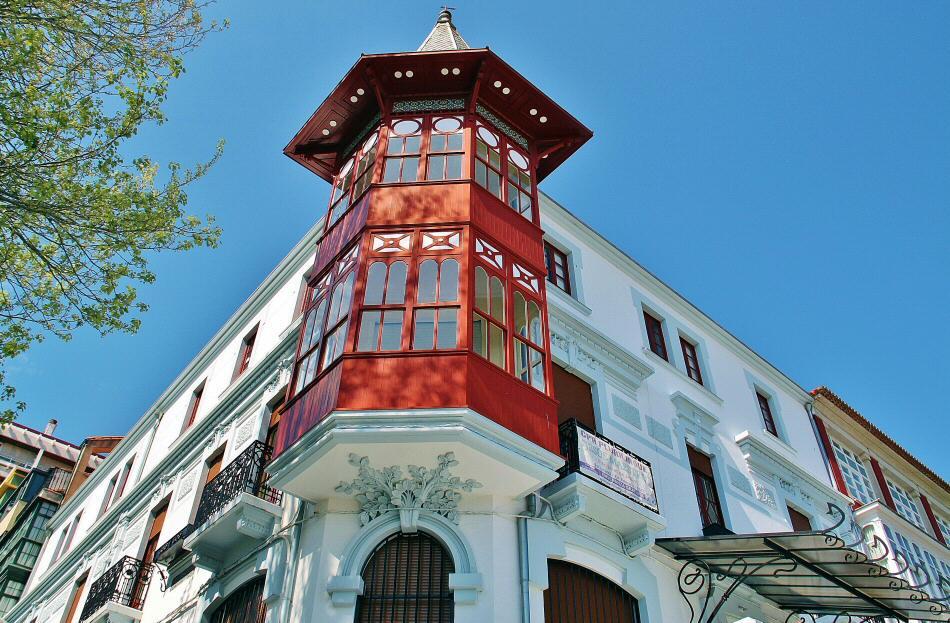 casa antn edificio modernista en ferrol