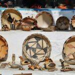 Tienda de cerámicas en Sidi Bou Said en Túnez