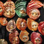 Tienda de souvenirs en Sidi Bou Said en Túnez