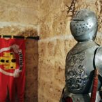 Decoración interior del castillo de Villafuerte de Esgueva en Valladolid