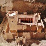 Maqueta del castillo de Villafuerte de Esgueva en Valladolid