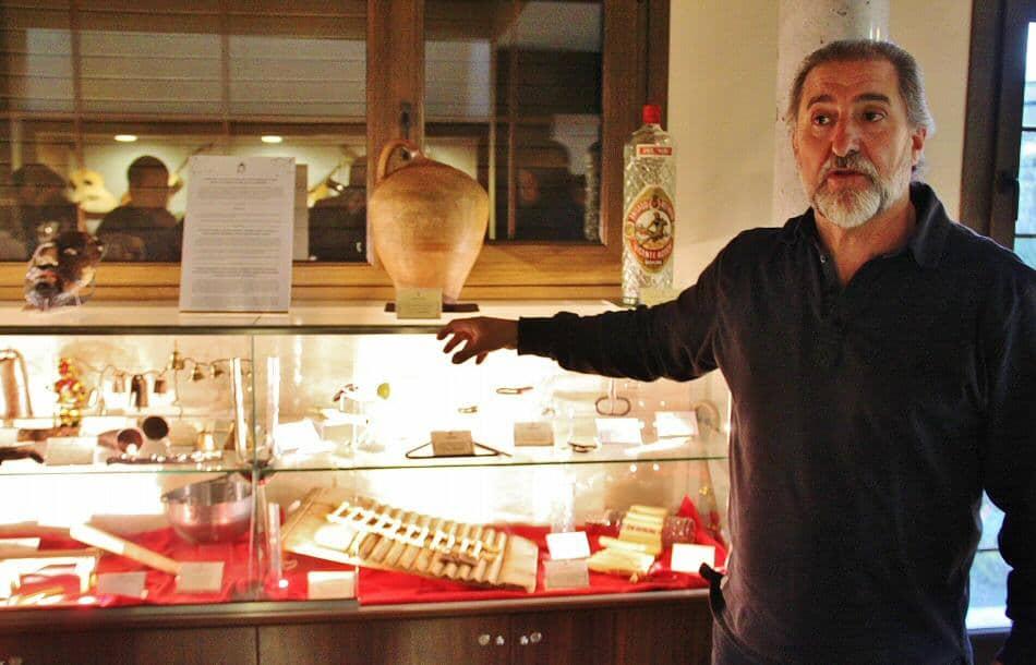 Aula museo de Paco Díez en Mucientes en la provincia de Valladolid