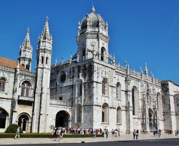 Monasterio de los Jerónimos en Belem cerca de Lisboa