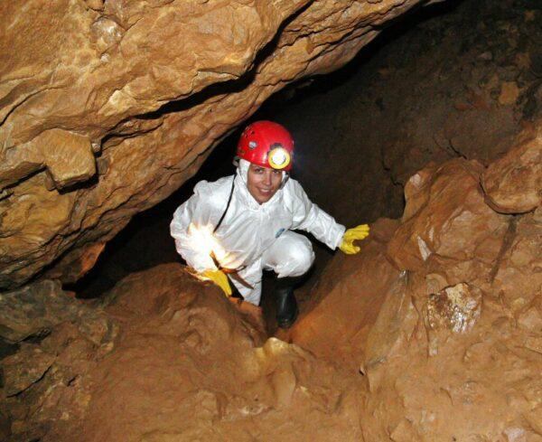 Visita Turismo Aventura en Cueva El Soplao en Cantabria
