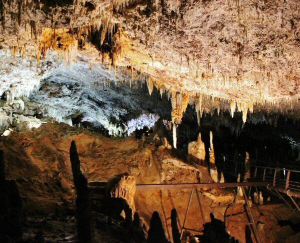 Cueva El Soplao en Cantabria