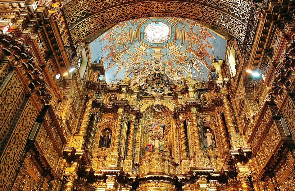 La Iglesia De La Compañía Una Joya Del Arte Barroco En: Iglesia De La Compañía En Quito
