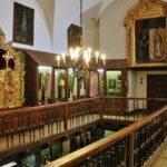 Sacristía de la Colegiata de Villagarcía de Campos en provincia de Valladolid