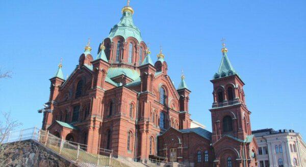 Catedral ortodoxa Uspenski de Helsinki