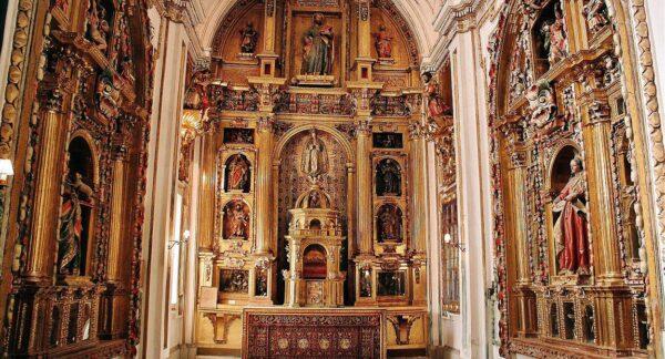 Capilla del Relicario en Colegiata de Villagarcía de Campos en Valladolid