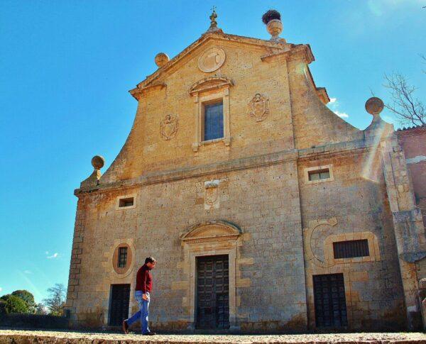 Colegiata de Villagarcía de Campos en provincia de Valladolid