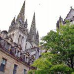 Catedral gótica de Quimper en Bretaña
