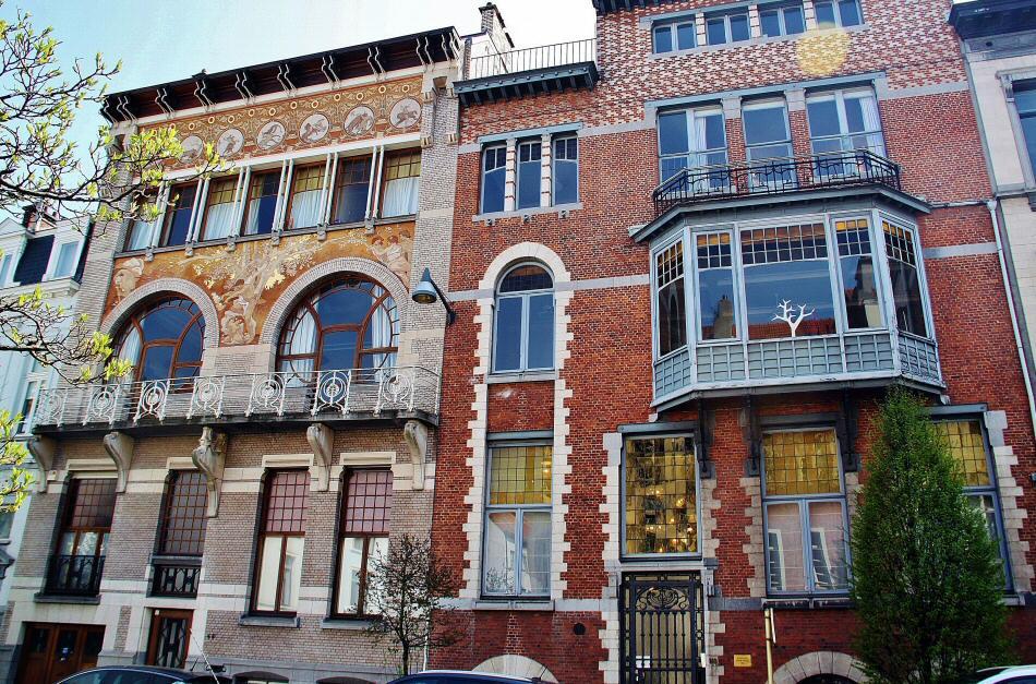 Ruta art noveau en bruselas gu as viajar Art nouveau arquitectura