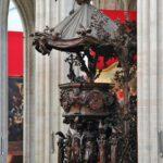 Púlpito de la catedral gótica de Amberes