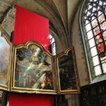 Exposición de pintura flamenca en la catedral gótica de Amberes