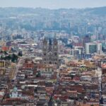 Vistas panorámicas de Quito desde el mirador del Panecillo