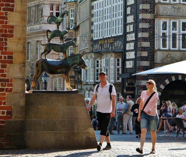 Escultura de los Músicos de Bremen