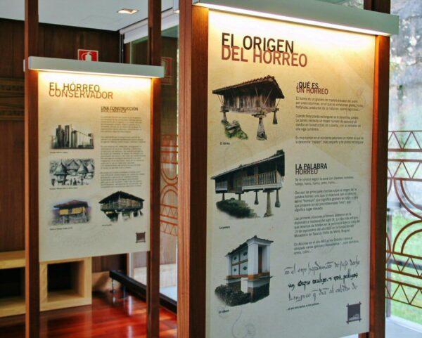 Centro de Interpretación del Hórreo en Bueño en Asturias