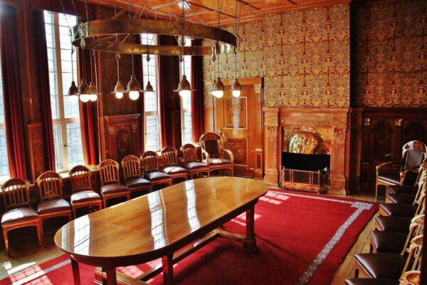 Cámara Dorada en el antiguo ayuntamiento de Bremen