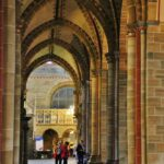 Nave lateral de la catedral de Bremen al norte de Alemania