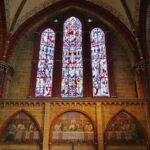 Abside de la catedral de Bremen al norte de Alemania