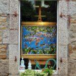 Galería de arte en Pont Aven en Bretaña al oeste de Francia