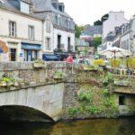 Pont Aven en Bretaña al oeste de Francia