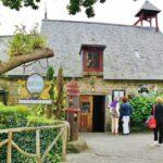 Restaurante en Pont Aven en Bretaña al oeste de Francia