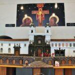 Maqueta de la iglesia de San Francisco en Quito