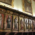Coro de la iglesia de San Francisco en Quito