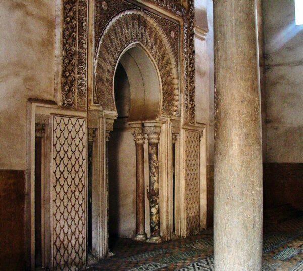 Tumbas Saadies en Marrakech