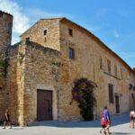 Castillo palacio de Peratallada en la Costa Brava