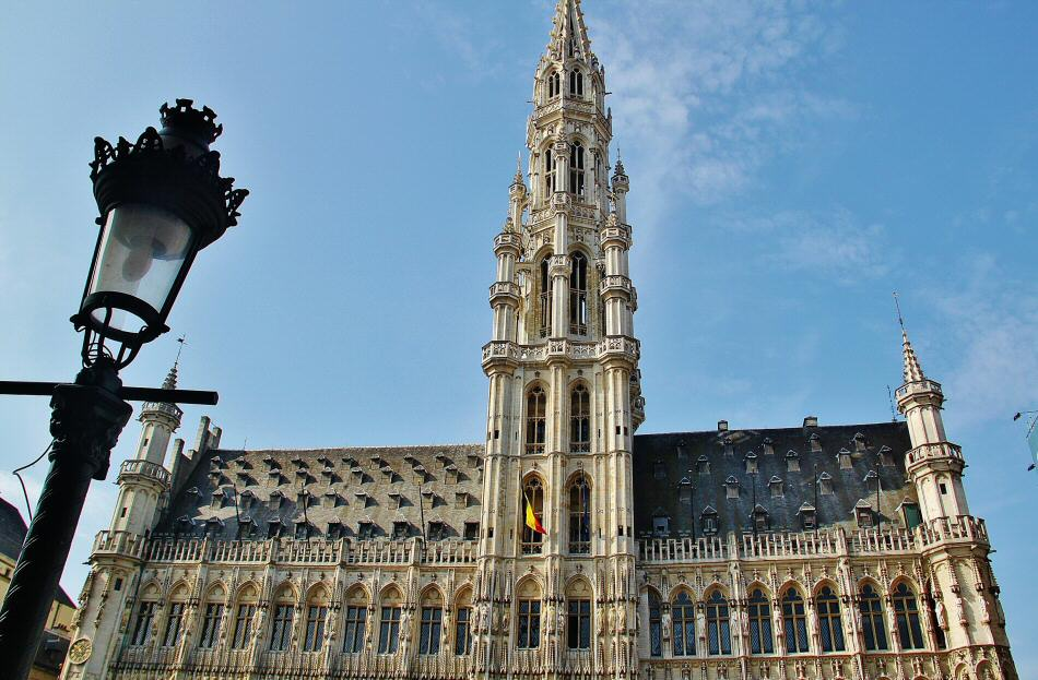 Ayuntamiento de Bruselas en la Grand Place