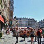Rincón de la Grand Place de Bruselas