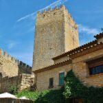 Torre del Homenaje del castillo de Peratallada en Costa Brava