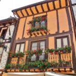 Rincón del centro de Ezcaray en La Rioja