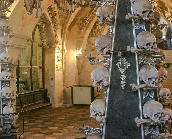 Capilla de los Huesos de Kutna Hora en República Checa