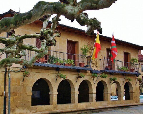 Ayuntamiento de Elciego en Rioja Alavesa