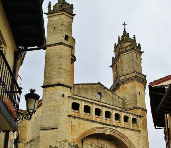 Iglesia de San Andrés en Elciego en Rioja Alavesaiego en Rioja Alavesa